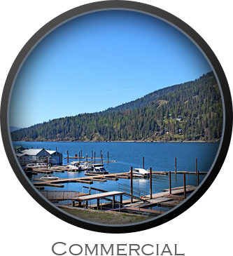 Search for Commercial Listings in Sandpoint, Idaho
